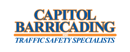 Capitol Barricading logo.